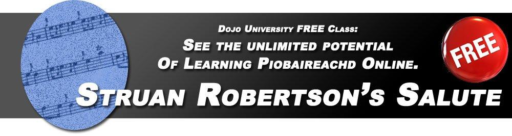 Piobaireachd Lesson: Struan Robertson's Salute