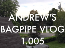THE GREAT BAGPIPE GAME - VLOG 1.005