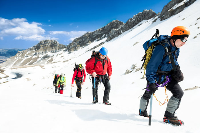 Mountaineering-Equipment-Boots-Mountains-Books-Hiking