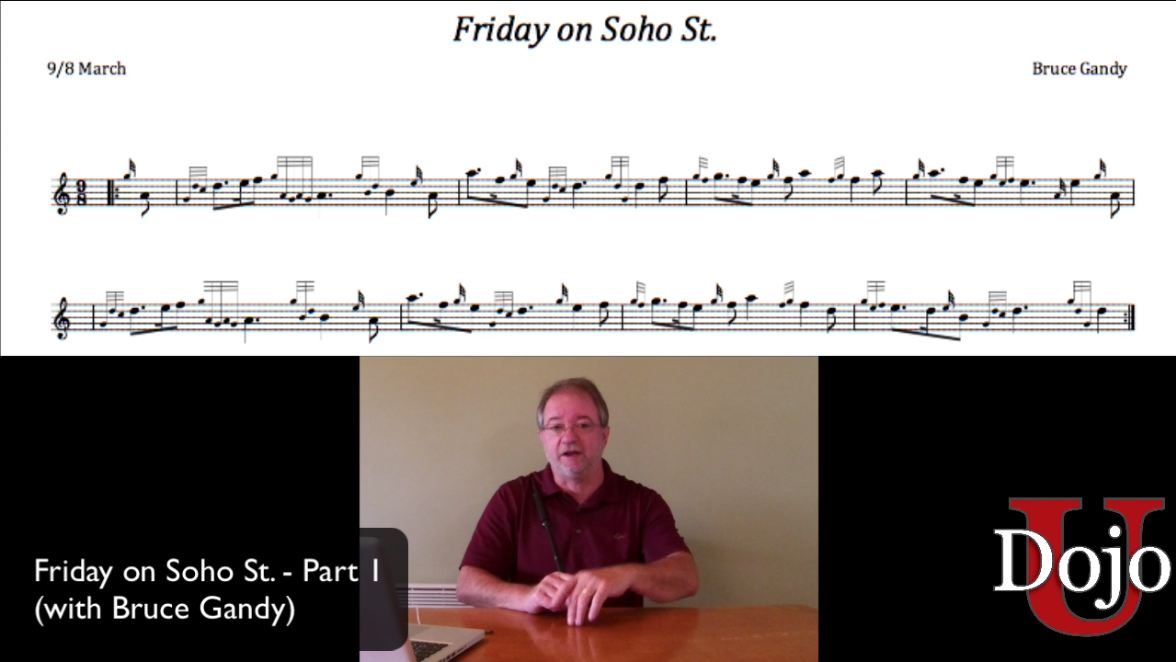 Friday on Soho St. - Part I (with Bruce Gandy)