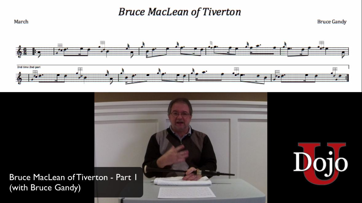 Bruce MacLean of Tiverton - Part 1