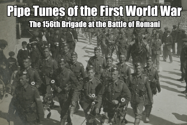 The 156th Brigade at the Battle of Romani
