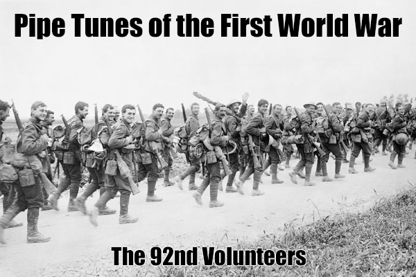 The 92nd Volunteers