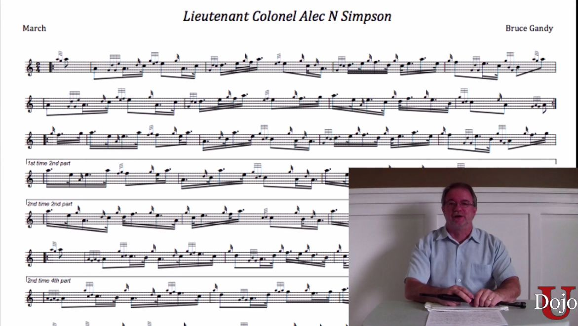Lt Col Alec Simpson - Part 1