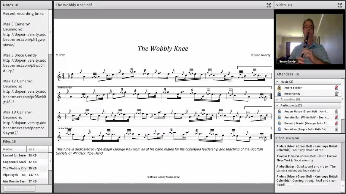 The Wobbly Knee - Live Class