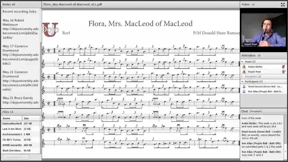 Flora, Mrs MacLeod of MacLeod Part 1 & 2 - Live Class