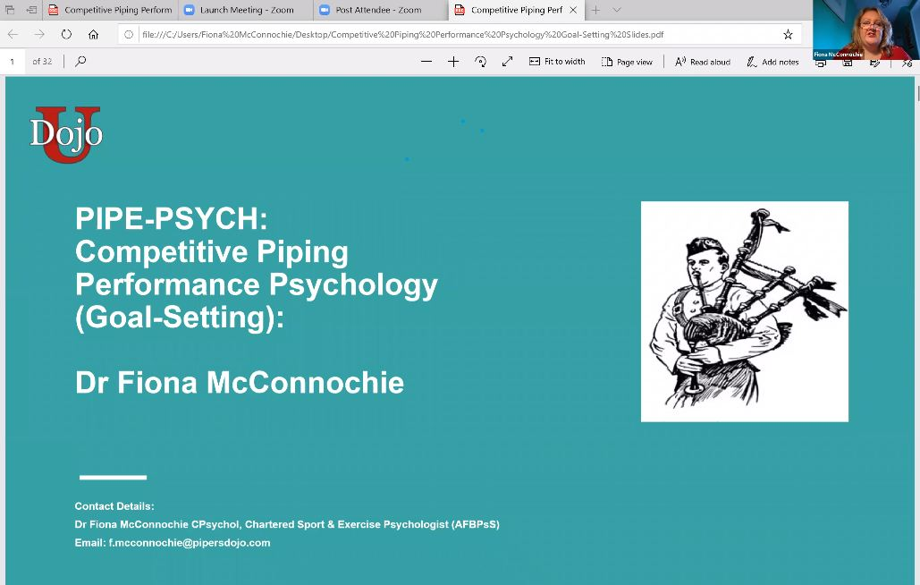 Goal Setting (Performance Psychology) - Live Class