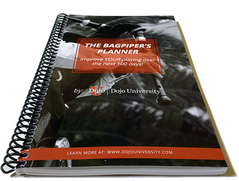 Using Your Bagpiper's Practice Planner