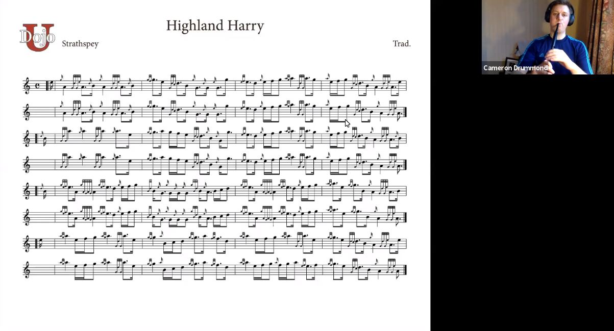 Highland Harry - Live Class (with Cameron Drummond)