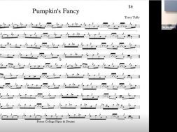 The Pumpkin's Fancy - Live Class